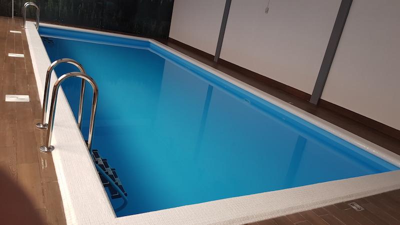 Появился новый корпус с бассейном