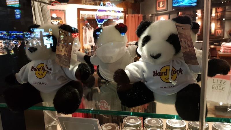 Панды из Хард-Рок Кафе присоединяются к привету