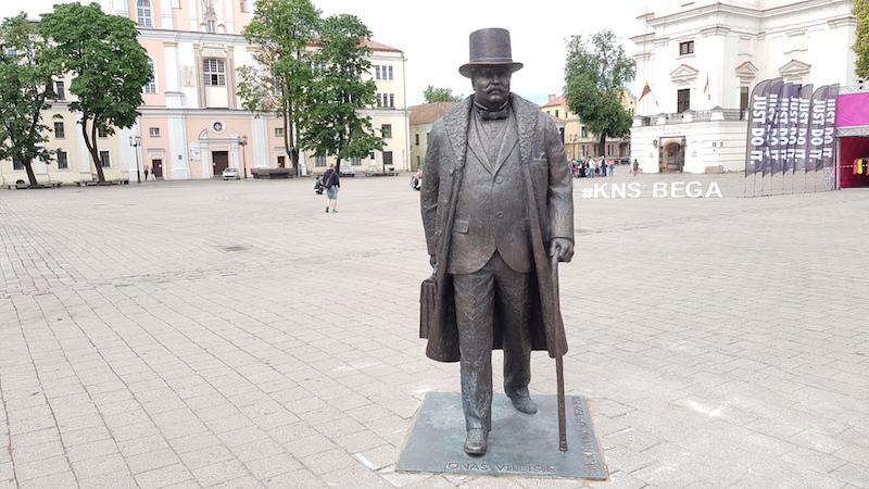 Бургомистр на центральной площади