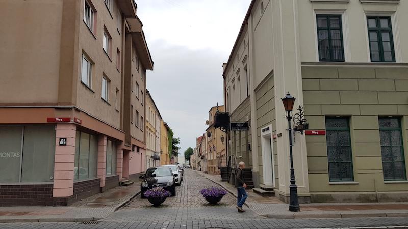 В старом городе очень приятно