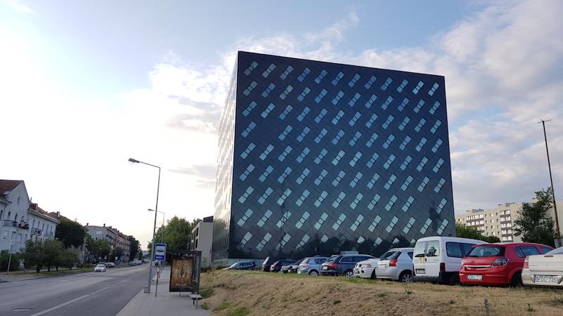 Современное здание налоговой