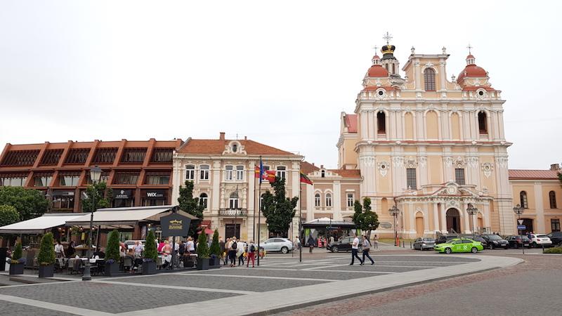 В центре старого города
